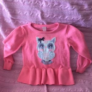 ❄️4 for $25❄️Pink Owl Sweater